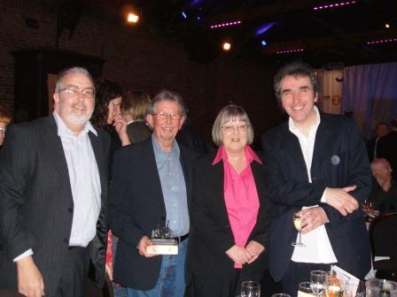 Paul Homer, Alan &amp Pam Colls with Jez