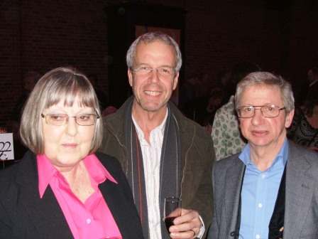 Pam Colls, Nick Barraclough &amp Colin Searle